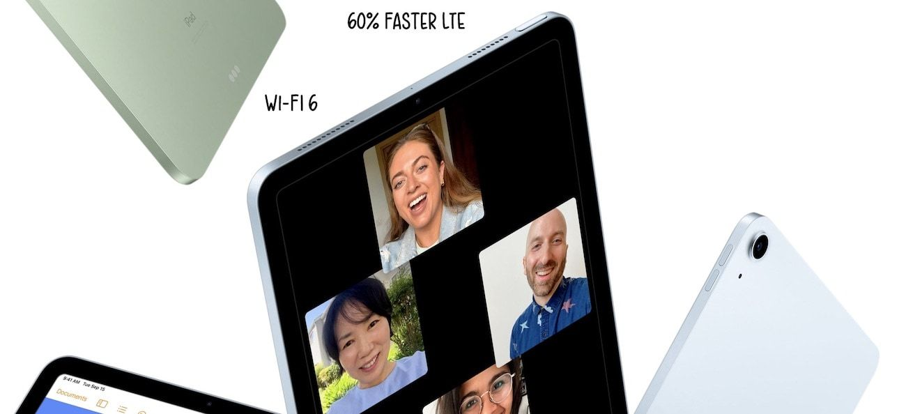 Wifi 6 and better LTE speeds