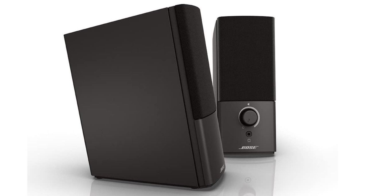 18. Bose Companion 2 Series III Multimedia Speakers
