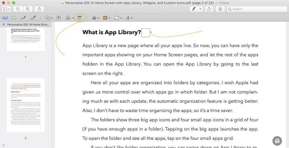 Add Notes to PDF Using Preview on Mac 1