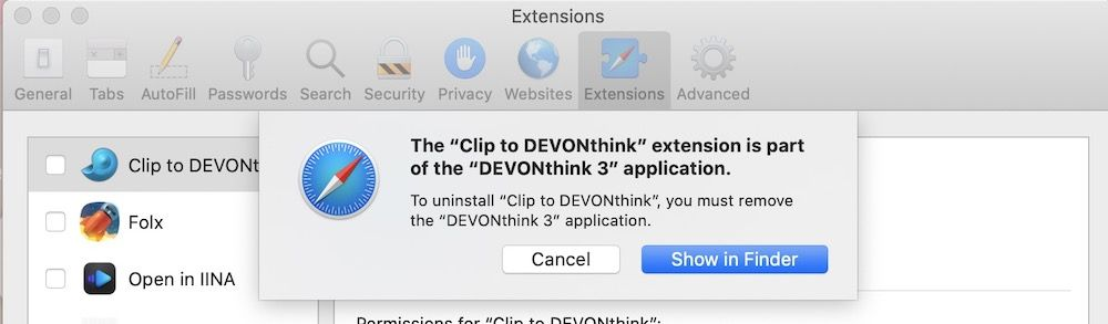 How to Remove Extensions from Safari on Mac 2
