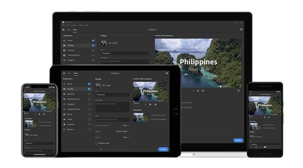 Adobe Releases Premiere Rush CC, Adobe Photoshop CC Coming Soon to iPad