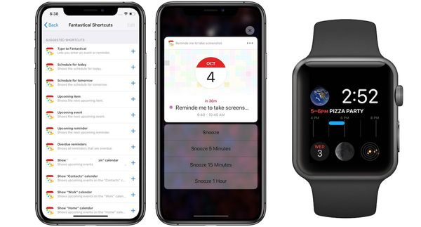 Fantastical 2.10 Update Brings Siri Shortcuts Support and new Apple Watch Complications