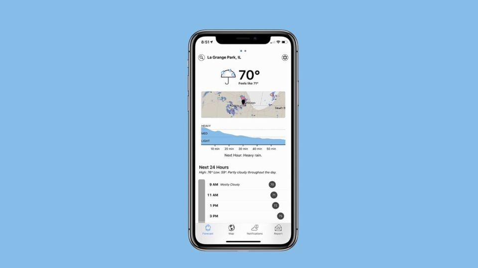 Apple Acquires Hyperlocal Weather App Dark Sky