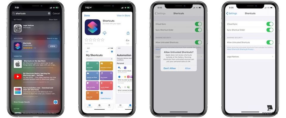 How to Install Shortcuts App in iOS 13 After Deleting It