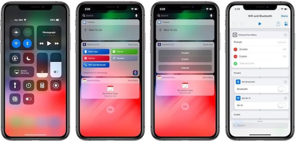 How to Truly Disable WiFi and Bluetooth on iOS Using Shortcuts
