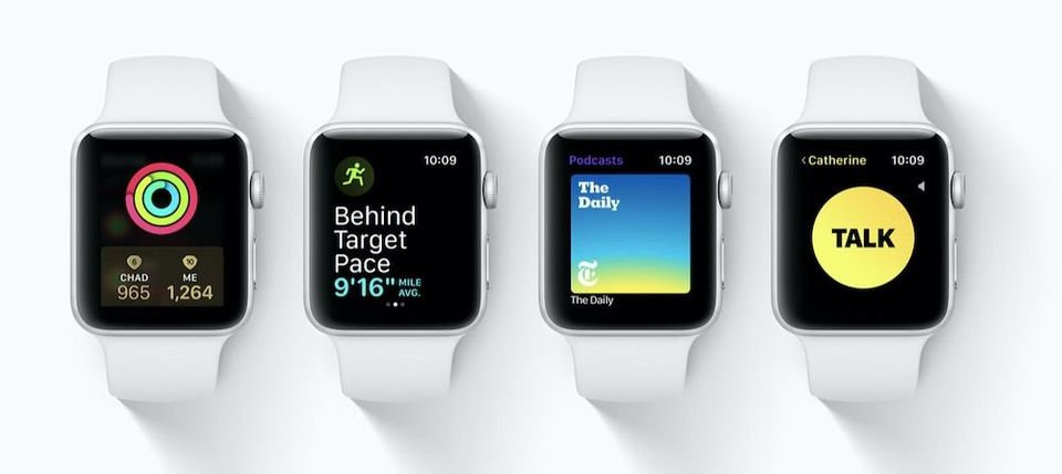 watchOS 5 Features List: Everything New in watchOS 5