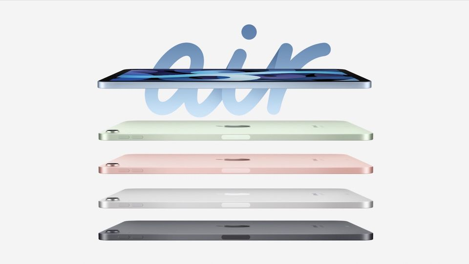 Apple Unveils New iPad Air with iPad Pro like Design